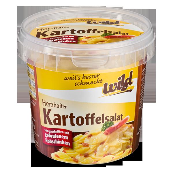 herzhafter Kartoffelsalat 500g-Becher