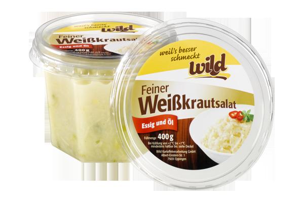 Feiner Weißkrautsalat 400g