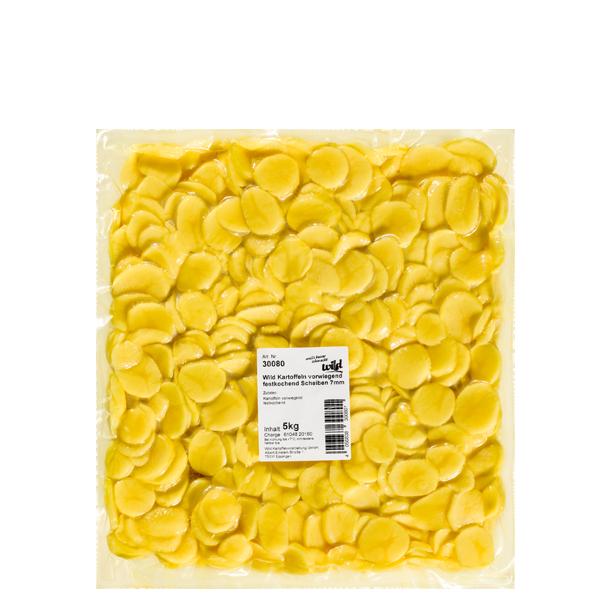 frische Kartoffeln vf. Scheiben 7mm 5kg