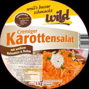 Cremiger Karottensalat im 3kg & 5kg Eimer