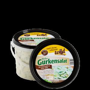 Weißer Gurkensalat im3kg und 5kg Eimer